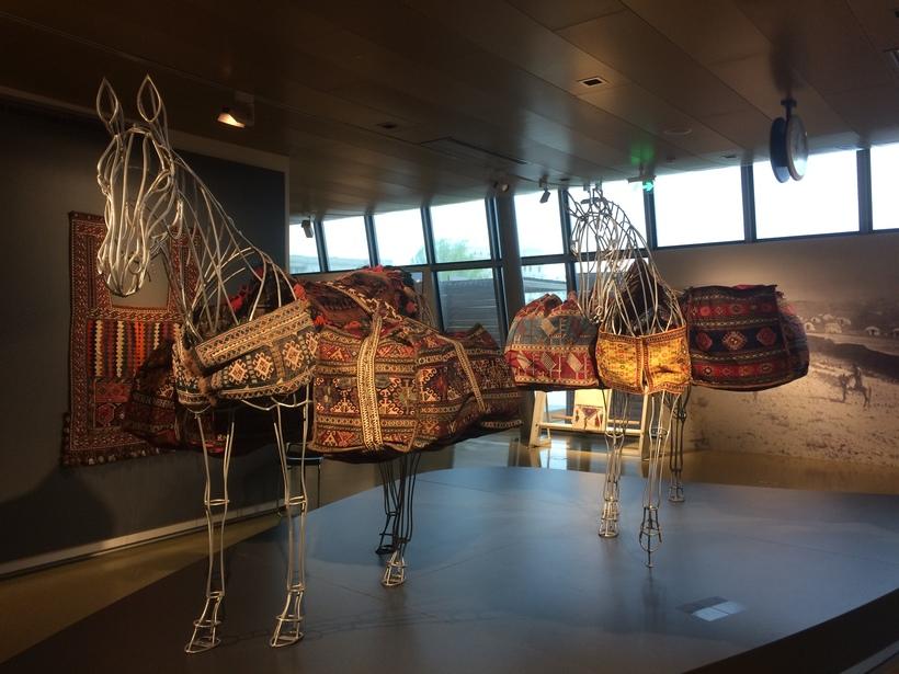 Ковер Музей ковров: чудо архитектуры современного Баку